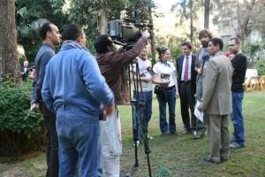 Konferencja prasowa w Kairze