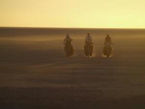 Rowery świetnie sprawują się na Saharze